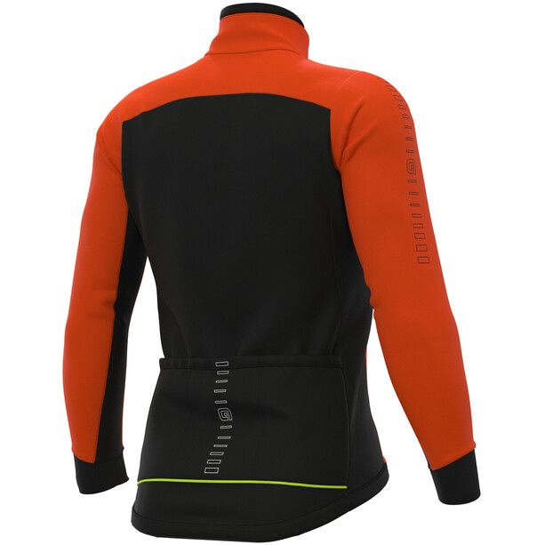Alé Cycling Solid Fondo Jacke Herren fluo orange