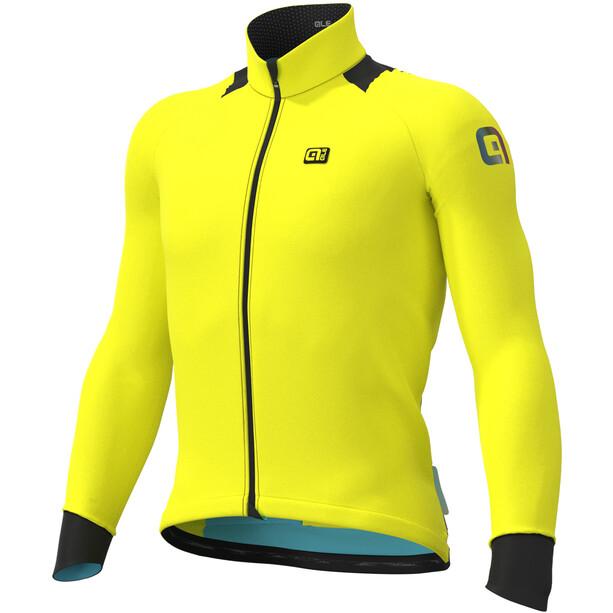 Alé Cycling Klimatik K-Idro Maillot À Manches Longues Homme, jaune