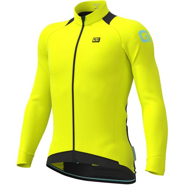 Alé Cycling Klimatik Klima Winter LS Jersey Men fluo yellow