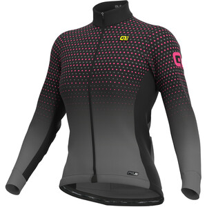 Alé Cycling PR-S Bullet Pitkähihainen Paita Naiset, musta/vaaleanpunainen musta/vaaleanpunainen