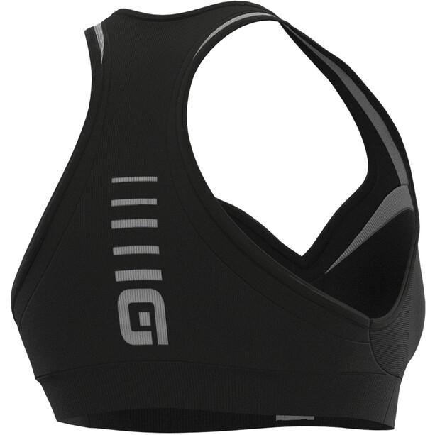 Alé Cycling Sport BH Damen black/titan grey