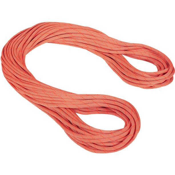 Mammut 9.8 Crag Classic Seil 70m classic standard/orange/white