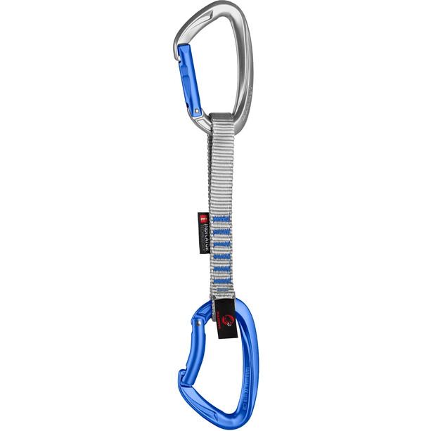 Mammut Crag Indicator Expressschlinge 15cm straight gate/bent gate/silver/ultramarine