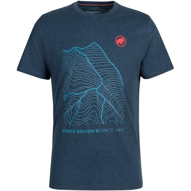 Mammut Sloper T-Shirt Herren marine melange