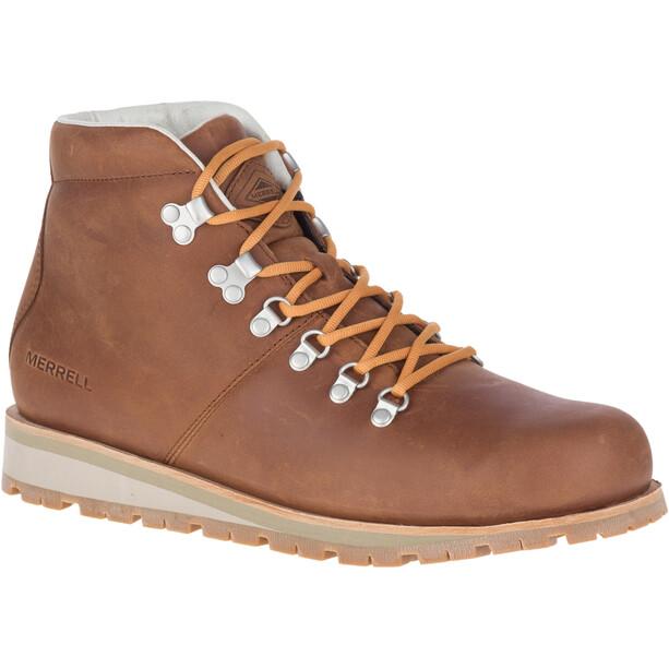 Merrell Wilderness LT Schuhe Wasserdicht Herren braun