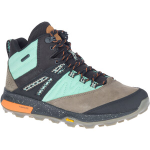 Merrell Zion X Unlikely Hikers Mid-Cut Schuhe Wasserdicht Damen wave wave