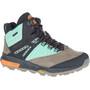 Merrell Zion X Unlikely Hikers Mid-Cut Schuhe Wasserdicht Damen wave