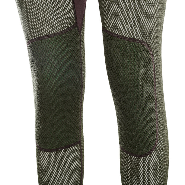 Aclima Hiking Lange Unterhose Damen fudge/dill/olive night