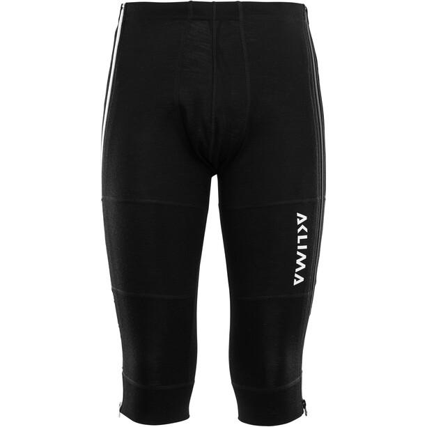Aclima WarmWool 3/4 Unterhose Herren jet black
