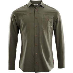 Aclima Woven Wool Shirt Herren ranger green ranger green