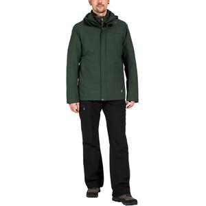 VAUDE Caserina II 3in1 takki Miehet, vihreä vihreä