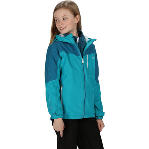 Regatta Hydrate V 3-in-1 Jacke Kinder freshwater blue/dark methyl freshwater blue/dark methyl