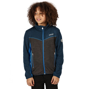 Regatta Oberon III Soft Shell Jacke Kinder deep space/magnet/imperial blue deep space/magnet/imperial blue