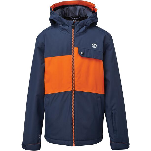 Dare 2b Enigmatic Waterproof Insulated Jacket Kids, dark denim/blaze orange