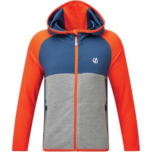 Dare 2b Hasty Core Stretch Jacket Kids blaze orange/dark denim blaze orange/dark denim