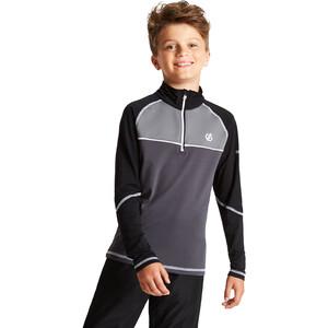 Dare 2b Formate Core Stretch Langarmshirt Kinder ebony grey/black ebony grey/black