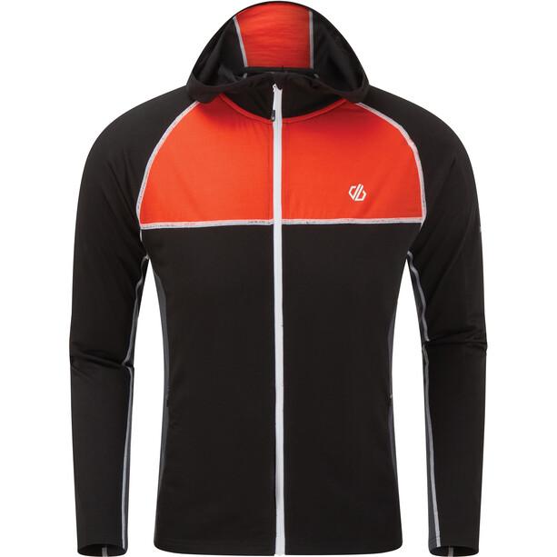 Dare 2b Perennial Sweater Jacke Herren schwarz/orange