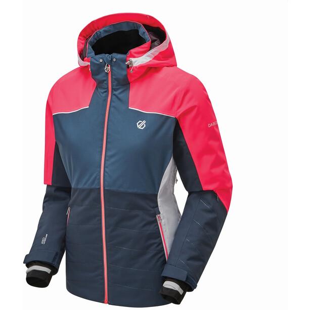 Dare 2b Flourish Jacke Damen blau/pink