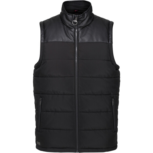 Regatta Hamill B/W Bodywarmer Weste Herren black/black