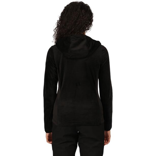 Regatta Siddington Fleecejacke Damen black/black