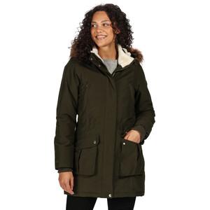 Regatta Sefarina Wasserdichter Isolierter Mantel Damen dark khaki dark khaki