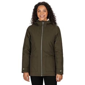 Regatta Bergonia II Waterproof Insulated Jacket Women, dark khaki dark khaki