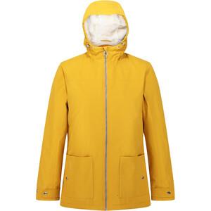Regatta Bergonia II Wodoodporna kurtka izolowana Kobiety, żółty żółty