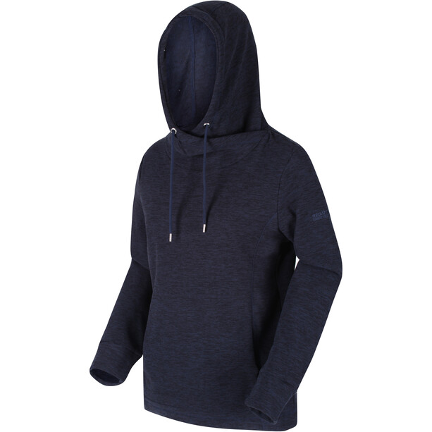 Regatta Kizmit II Fleece Hoodie Damen navy/black