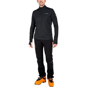 VAUDE Livigno II Half-Zip Oberteil Herren black black