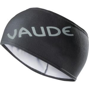 VAUDE Logo Stirnband black black