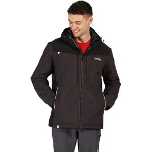 Regatta Highton Stretch Waterproof Insulated Jacket Men, ash/black ash/black