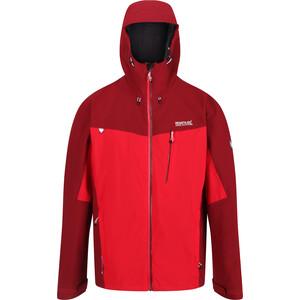 Regatta Birchdale Waterproof Shell Jacke Herren true red/delhi red true red/delhi red