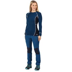 Regatta Beru Langarmshirt Damen blue opal/navy blue opal/navy