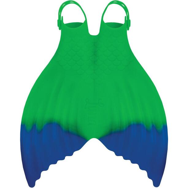 FINIS Luna Fin Damer, grøn/blå