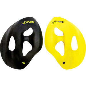 FINIS ISO Handpaddel black/yellow black/yellow