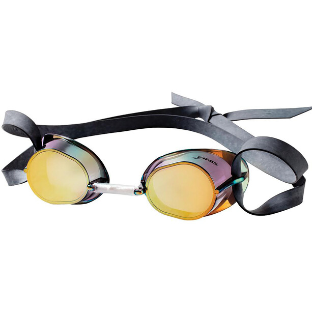 FINIS Dart Traditional Racing Goggles gold/mirror