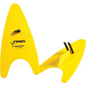 FINIS Freestyler Handpaddels, geel geel