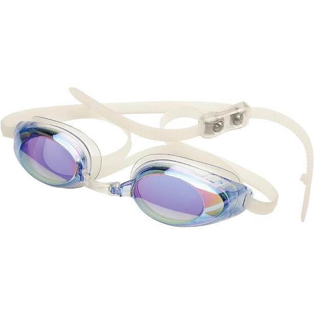 FINIS Lightning Goggles blue/mirror