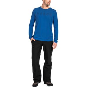 VAUDE Rosemoor II Langarm T-Shirt Herren signal blue signal blue