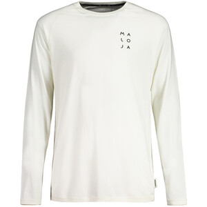 Maloja MolithangM. Langarm Multisport Trikot Herren vintage white vintage white