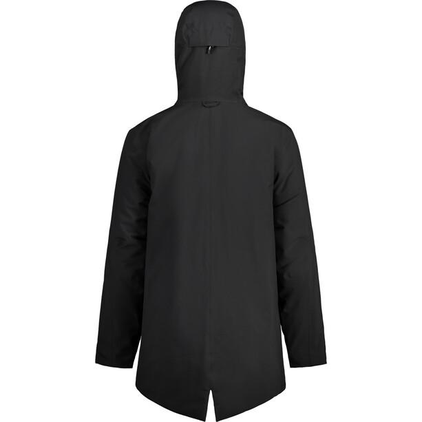 Maloja ChortenM. Wattierter Mantel Herren schwarz