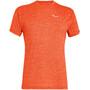 red orange melange