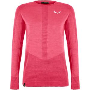 SALEWA Zebru Responsive Langarm T-Shirt Damen virtual pink virtual pink