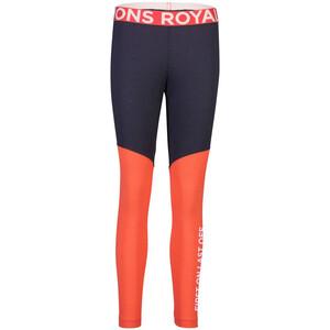 Mons Royale Christy Leggings Dam blå/orange blå/orange