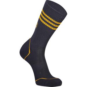 Mons Royale Signature Crew Socks Herr 9 iron/gold 9 iron/gold