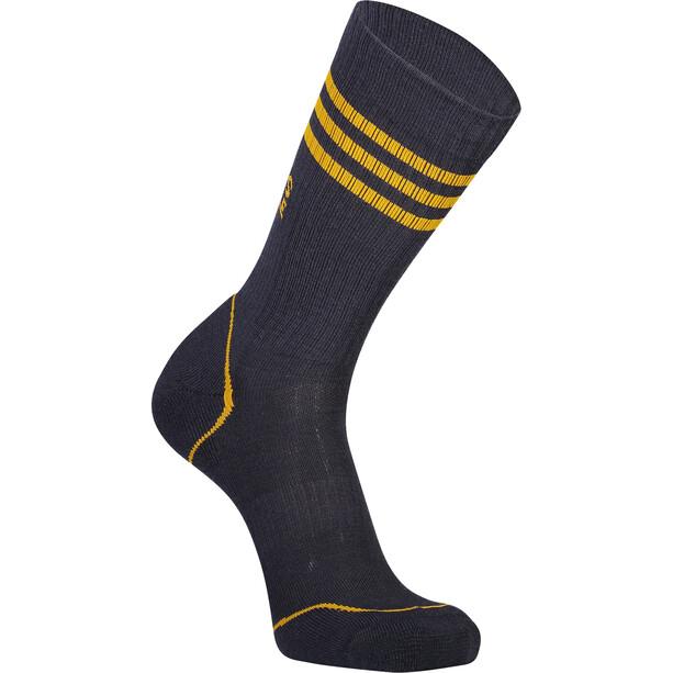 Mons Royale Signature Crew Socks Herr 9 iron/gold