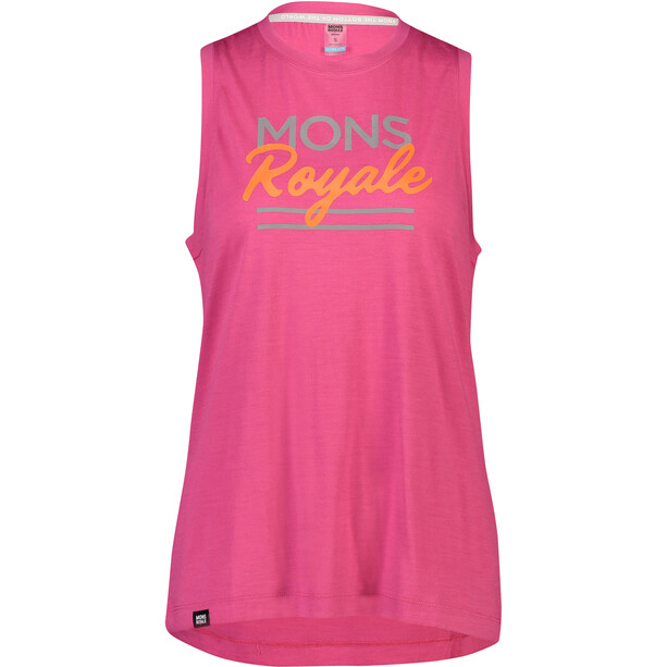 Mons Royale Tarn Freeride Tank Women punk baby