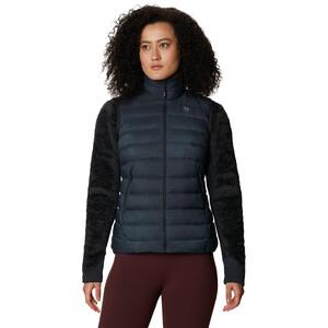 Mountain Hardwear Rhea Ridge Vest Women, dark storm wove dark storm wove