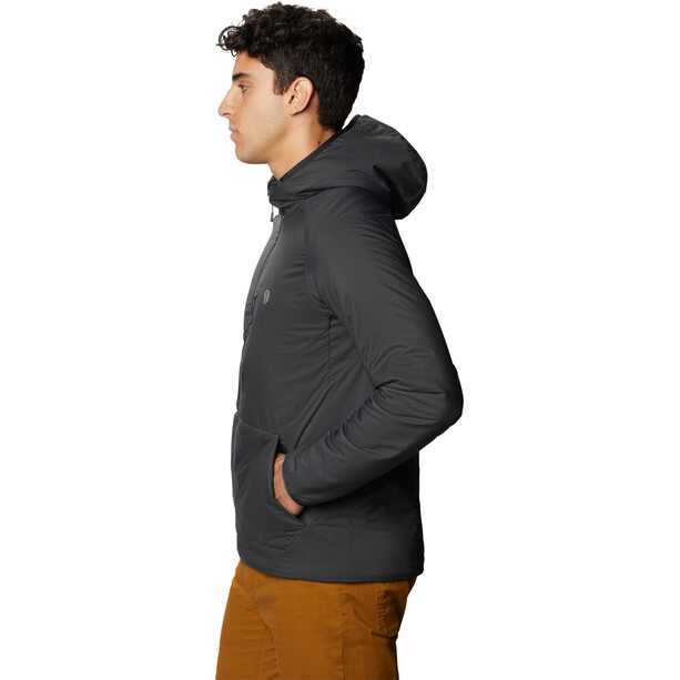 Mountain Hardwear Kor Strata Pullover Hoodie Herren dark storm