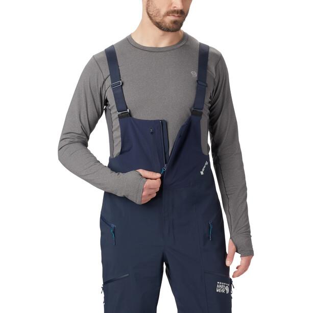 Mountain Hardwear Exposure/2 Gore-Tex Pro Trägerhose Herren dark zinc